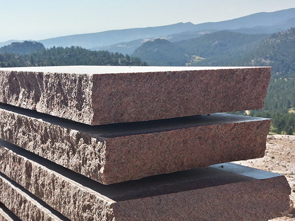 Colorado Red Granite : Colorado rose red